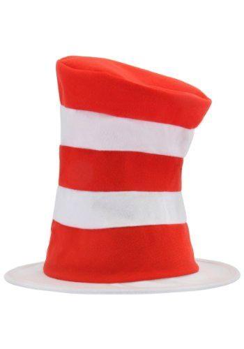 [Dr. Seuss Cat in the Hat Kids Tricot Hat by elope] (Round 3 Costumes)