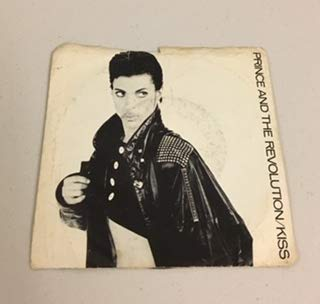 (PRINCE AND THE REVOLUTION/KISS 45 RPM SINGLE LP RECORD 12 INCH 1986 WB RECORDS)