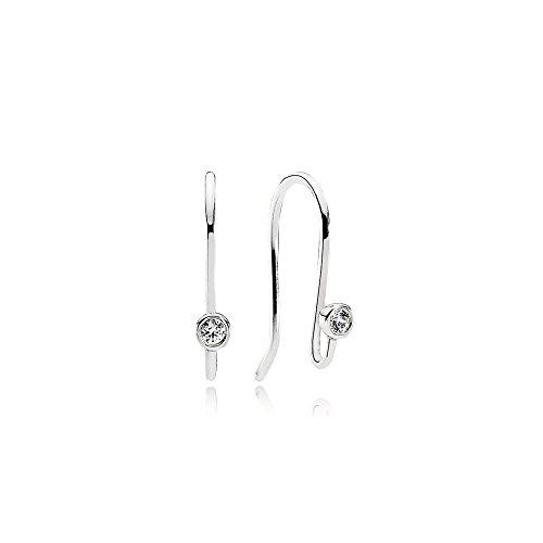 [판도라] PANDORA Sparkle Hooks 후프 귀걸이 (실버 큐빅) 정식 수입품 290677CZ