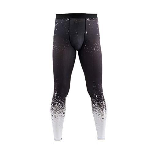 Men's Pant Yoga Fitness Pants High Waist Sports Gym Running Fitness Capri Leggings Slim Soft Workout Clothes Black Cool Mesh Breakaway Vest
