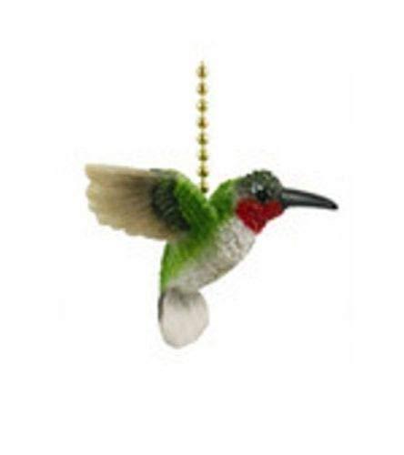 Hummingbird Fan Pull - Garden Hummingbird Bird Porch Deck Ceiling Fan Pull Three Dimensional