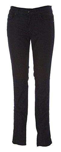 ANLO Women's Slim Fit 5 Pocket Jeans Sz 24 Blue Black Wash