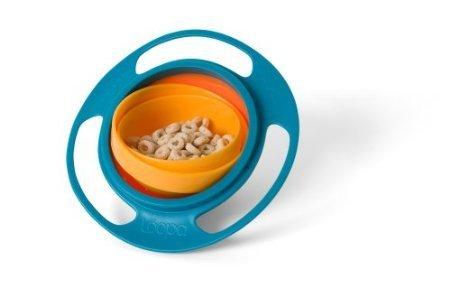 Baby / Child Universal Gyro Self-Feeding Spill-Resistant ...