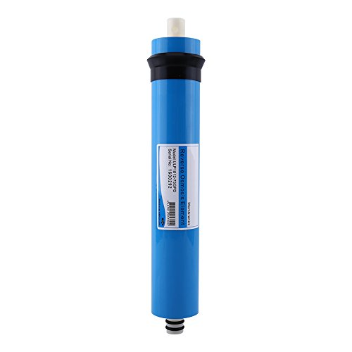 TFC High Purity Reverse Osmosis Membrane Systems Aquarium Water Filter RO 75 GPD (Blue (25 Gpd Ro System)