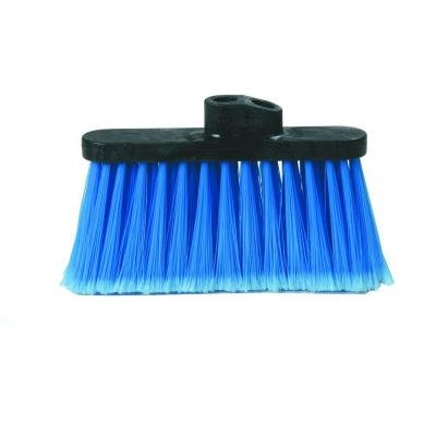 Light Industrial Blue Duo-Sweep Replacement Broom Head (Case of 12) by Carlisle