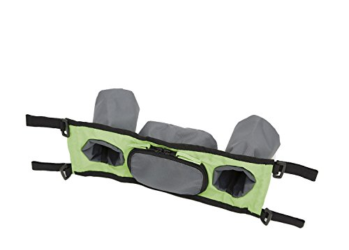 Croozer Handlebar Console for Kid for 1 Bike Trailer Green