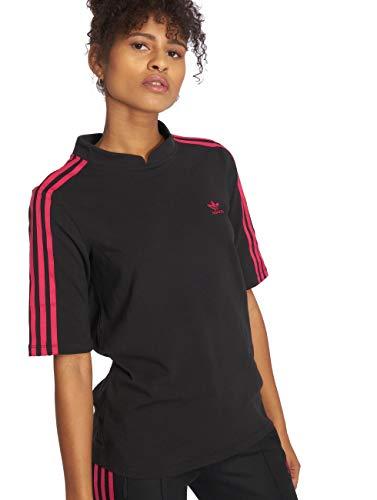 Lf shirt Long Originals Femme Noir T Adidas qwdIOnXggx