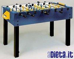 Garlando G100 (Azul) con varillas uscenti Fútbol Futbolín calcetti ...