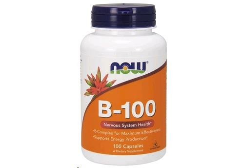 Now Foods B 100 Capsules Pack product image