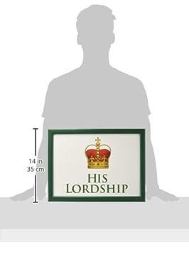 Sie Ladyship Scho/ß Tablett Portion Sitzsack TV Bett Weiche Kissen Gepolstert His Lordship /& Her Ladyship