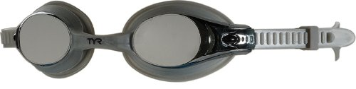 TYR Swimple Youth Metallized Goggle (Metallized Silver)