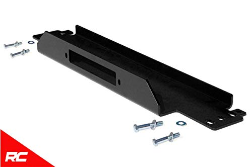 Rough Country Winch Mounting Plate Compatible w/ 1987-2006 Jeep Wrangler TJ LJ YJ -