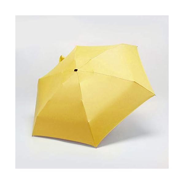 MaNMaNing Ombrello piatto mini leggero per ombrellone Parasole pieghevole portatile Ombrello perfetto Regalo di Natale o… 2 spesavip