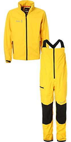 Slam Win-D Sailing Jacket + Trouser Combi Set Yellow Slam Size - XXL