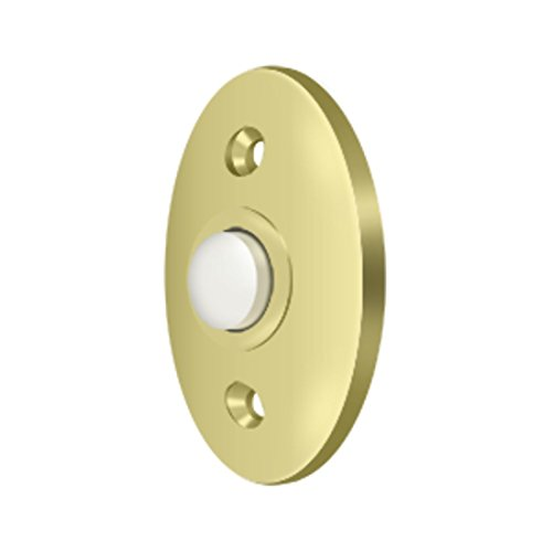 Solid Brass Standard Bell Button (Polished ()