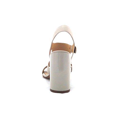 Cafenoir  Lc122 413, Damen Sandalen elfenbein elfenbein