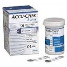 Blutzucker-Test STRIP Accu-Chek Aviva 50 U
