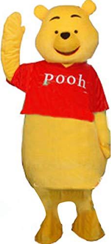 Mister Bear Winnie The Pooh Mascot Cosplay Costume Adult -