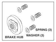 Brake Repair Kit for Pelton & Crane PCK742