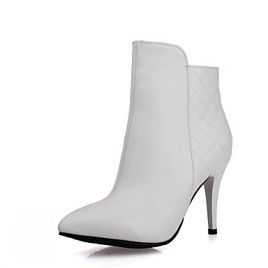 RTRY Women'S Boots Spring Fall Winter Comfort Novelty Patent Leather Leatherette Wedding Office &Amp; Career Dress Casual Party &Amp; Eveningstiletto US6 / EU38 / UK5 Big Kids dcdttKlH38