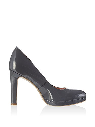 01 Black P1236s Donna con 1 Buffalo H748 Tacco Shoes Scarpe wZPCUzq