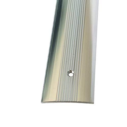Metal Carpet Cover Strip Door Bar Trim (900mm, Silver)