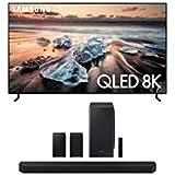 "Samsung QN55Q900RB 55"" 8K Ultra High Definition Smart QLED TV with a Samsung HW-Q950T 9.1.4 Channel Soundbar with Dolby Atmos"