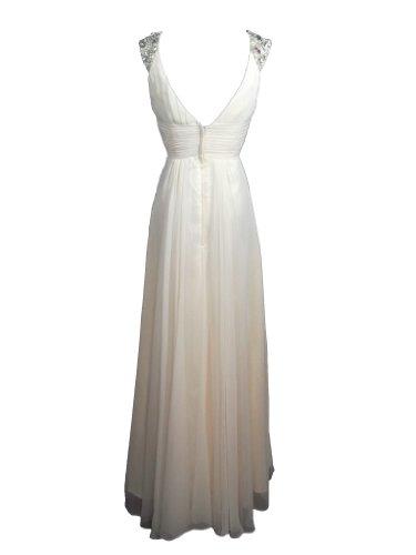Kleid Damen Alivila elfenbeinfarben Y Fashion ZTzrz1