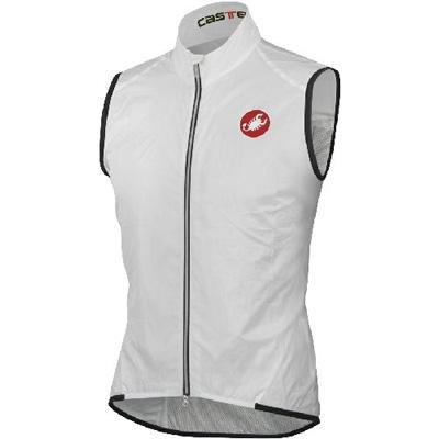 Castelli Leggero Vest White, XL - Men's ()