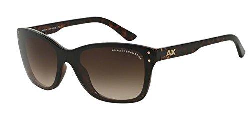 Armani Exchange AX 4027S Unisex Sunglasses Dark Tortoise - Armani Sunglasses Giorgio Exchange