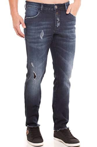 Calça Jeans Denuncia Skinny Azul 38
