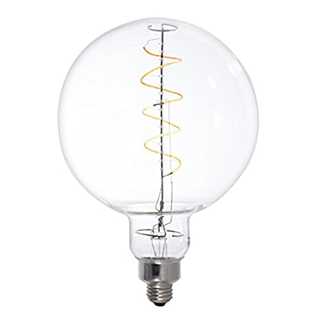 Bulbrite 776306 LED4OLIVE/22K/Fil LED 4W Olive Dimmable Light Bulb, E26/Medium Base, Antique