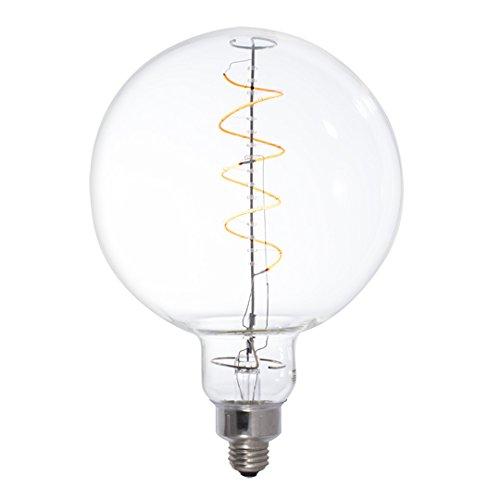Bulbrite 776302 LED4G63/22K/FIL LED 4W Globe Dimmable Light