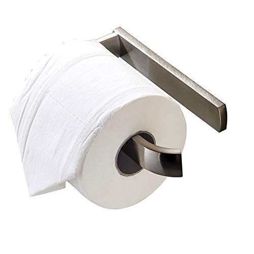 Rozin Wall Mounted Roll Toilet Paper Holder Brushed Nickel
