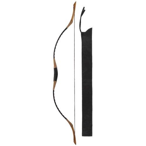 Hungarian Style Handmade Longbow Flagella Recurve Horsebow Archery 30-60LBS H1 (35 LB)