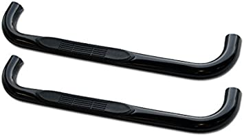 88-98 Chevy GMC C//K Regular Cab 2dr Black Running Boards Side Step Nerf Bars