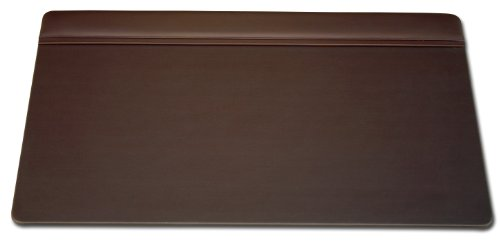 (Dacasso Chocolate Brown Top-Rail Pad, 34 by)