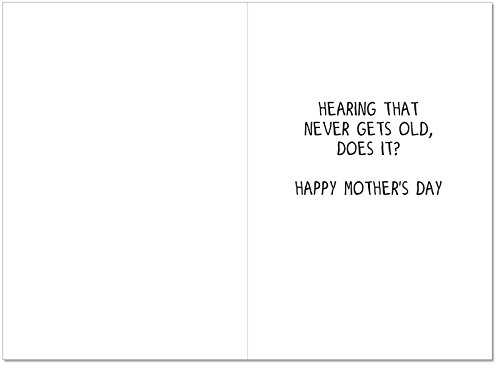 C1610MDG 'You Were Right' - Funny Mother's Day Greeting Card with 5