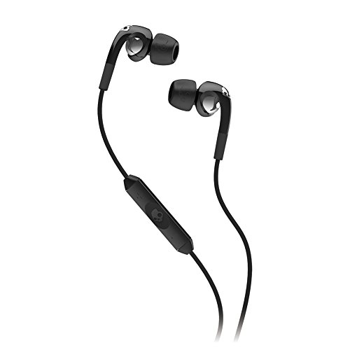 Skullcandy Fix Ear Bud with Mic1+ Remote - Retail Packaging - Black