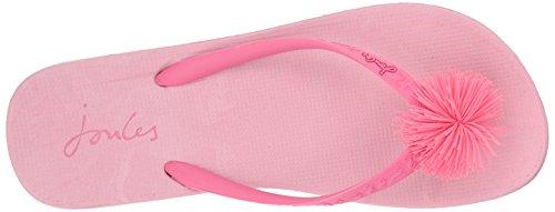 Tom Joule Damen Y_Flipflop Zehentrenner Pink (Pale Pink)