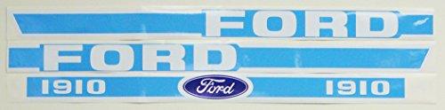 Ford DECAL SET , FORD 1910 S.66905 1910 SBA390113580, SBA390113590, SBA390113600