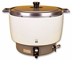 Paloma 55 Cup Commercial Gas Rice Cooker, (Natural Gas) (NSF Certification)