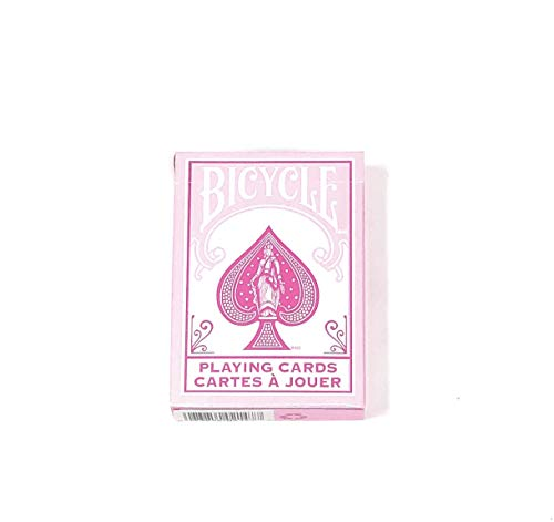 Playing Cards NEW DECK BICYCLE RIDER BACK POKER - Pink Cards Playing