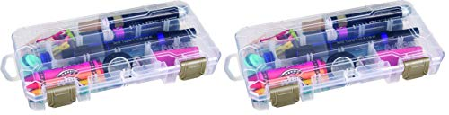 (ArtBin Solutions Small Box - Plastic Art and Craft Storage Container, 3003AB (Тwo Рack))