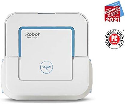 iRobot Braava jet 250, Robot laveur de Sols avec Pulvérisateur D'eau de Haute Précision - Home Robots