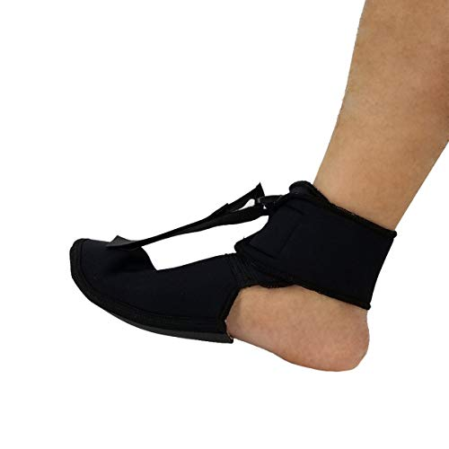 Yesbaby Adjustable Plantar Fasciitis Night Stretching Splint Boot Foot Brace Support Foot Pain Relief (Size : M)
