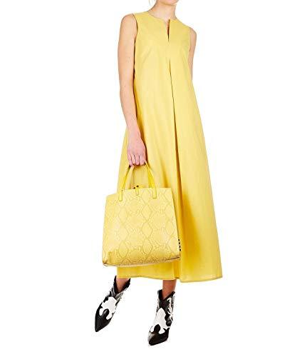 Algodon Amarillo Pchda3602yellow Ottod'ame Mujer Vestido qfnUWcgPzn