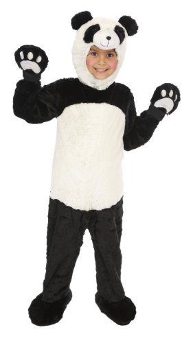 Just Pretend Kids Panda Animal Costume, Small - Panda Kids Costume