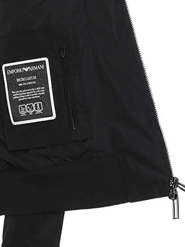 Emporio Armani Jacke mit aufgedrucktem Logo. 42: Odzież