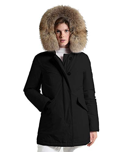 Fr Arctic W's Parka Giaccone Woolrich Nero Donna qpwtS4A5
